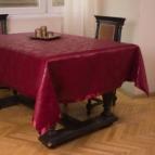Покривка за маса Маргаритки - бордо