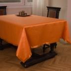 Покривка за маса Маргаритки - оранж