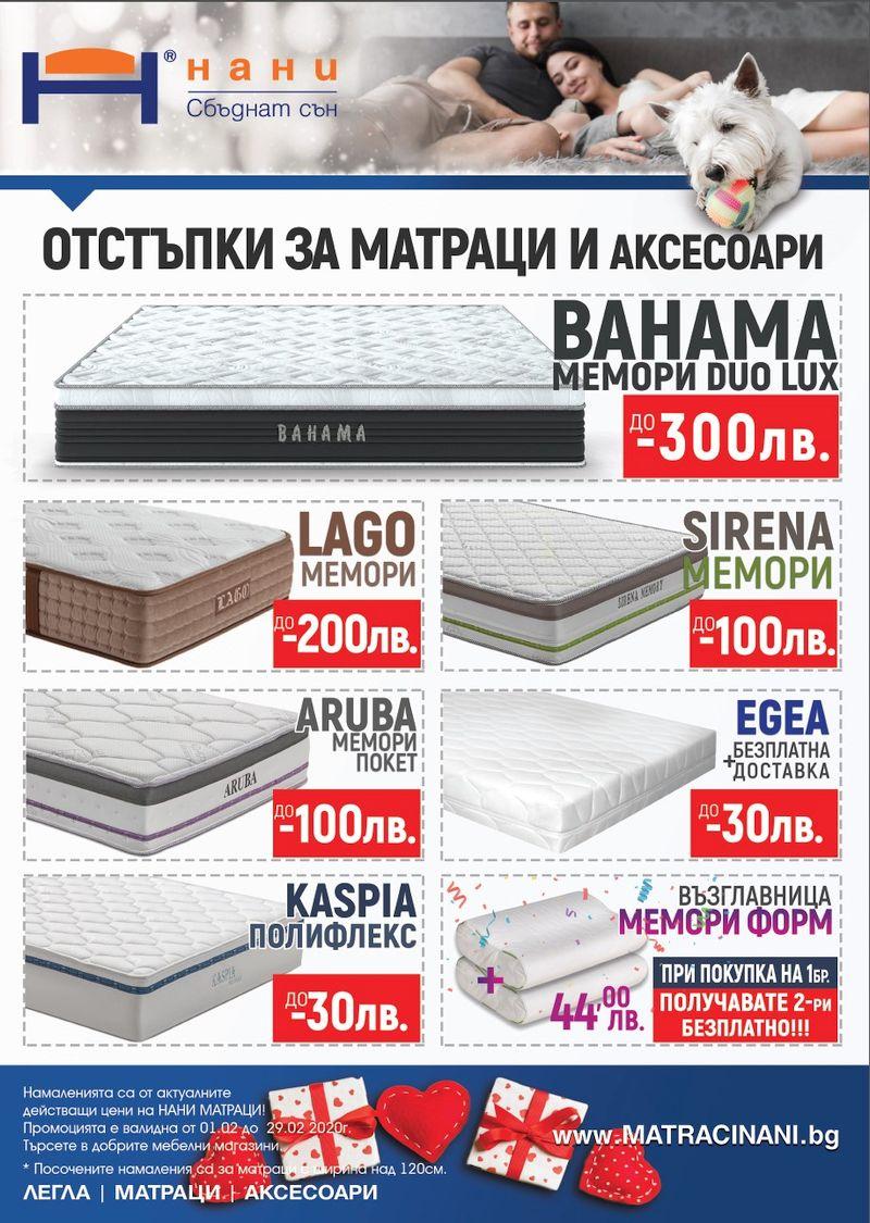 матраци НАНИ 02.2020