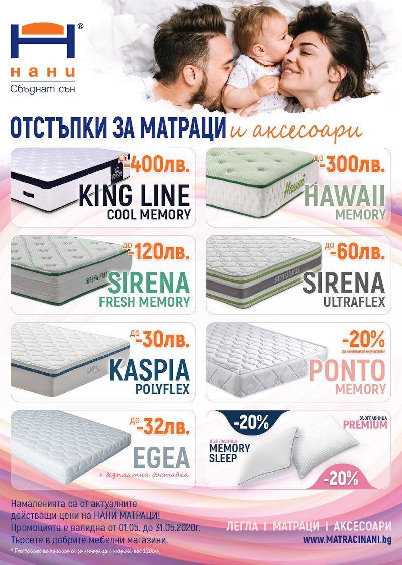 матраци НАНИ 05.2020