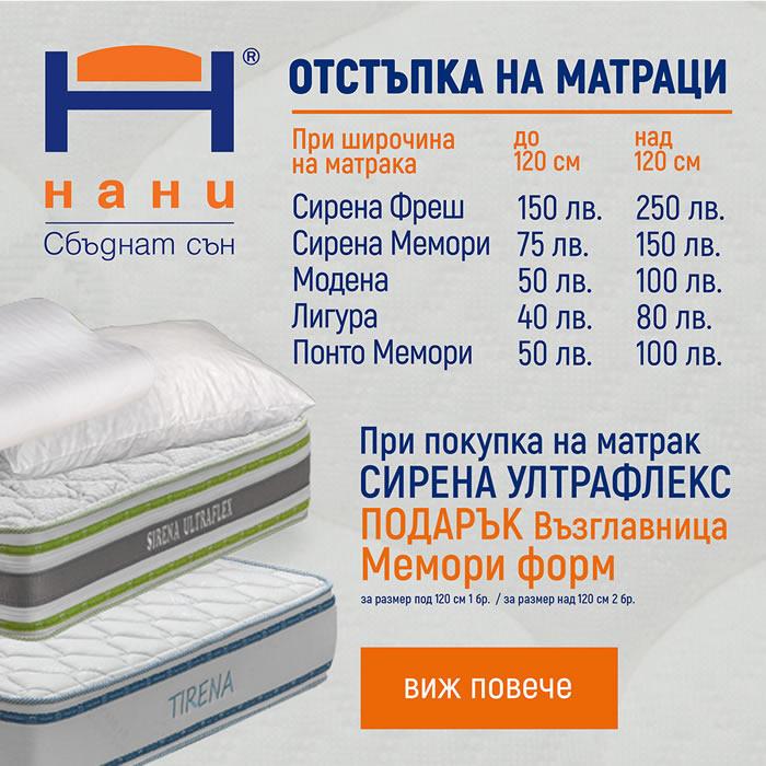 матраци НАНИ 11.2018