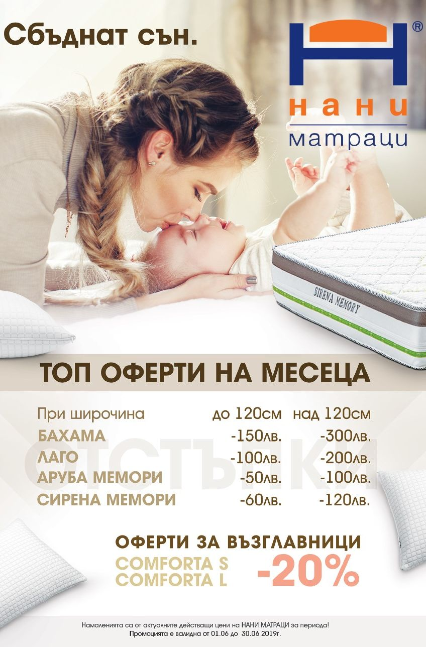 матраци НАНИ 06.2019