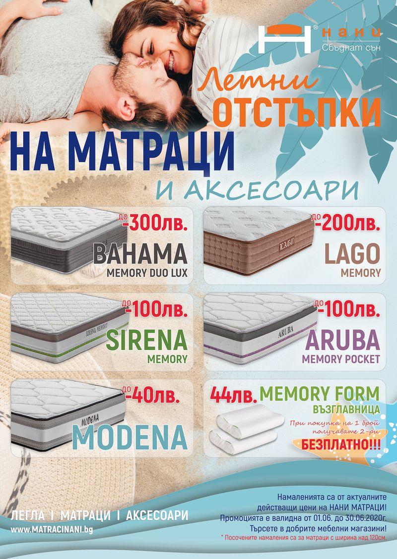 матраци НАНИ 06.2020
