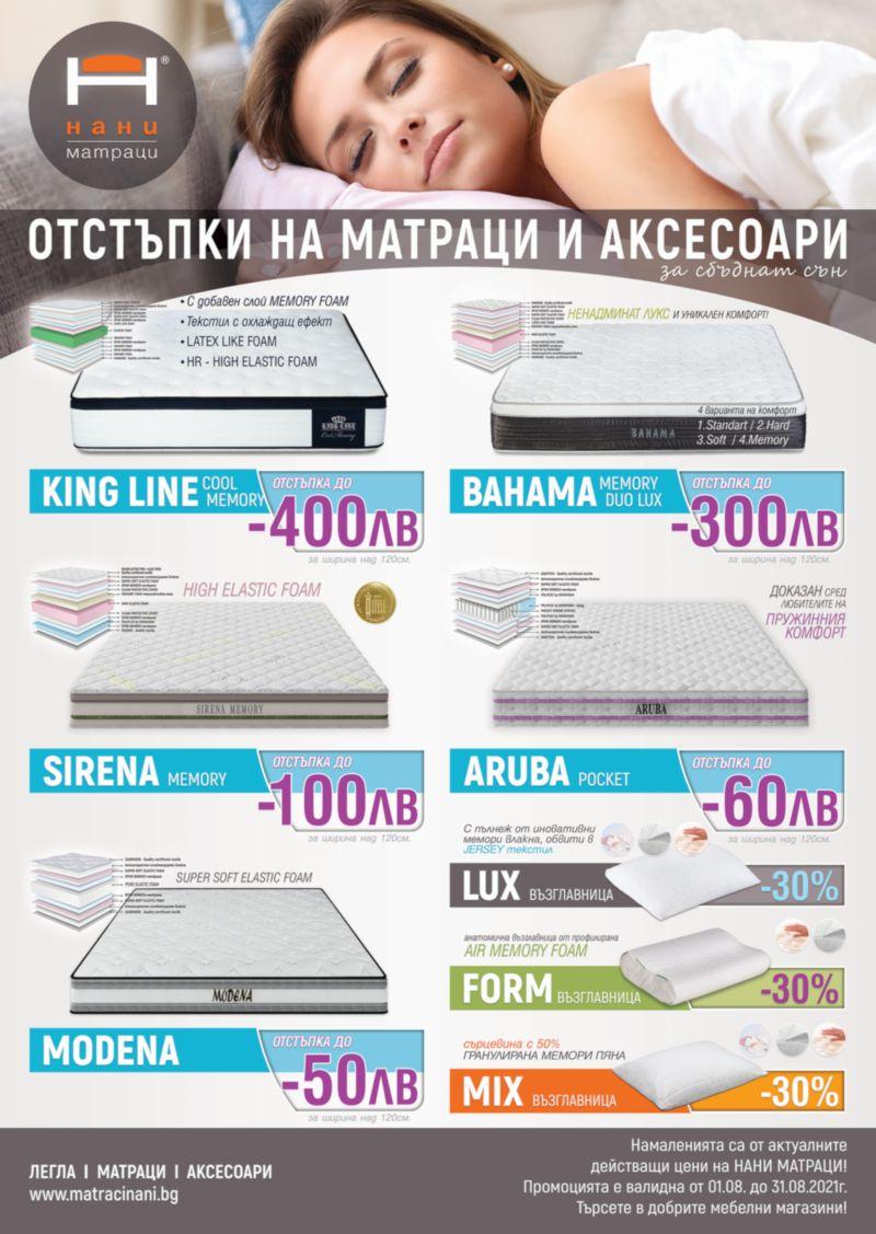 матраци НАНИ 08.2021