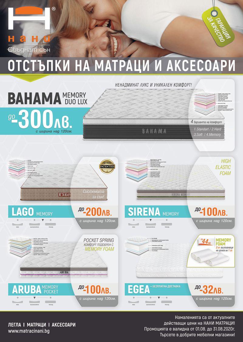 матраци НАНИ 08.2020