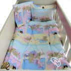 Бебешки к-т с олекотена завивка Лека нощ в синьо