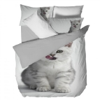 3D Спално бельо - Коте