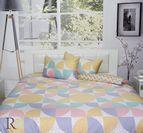 Спално бельо памучен сатен Алина