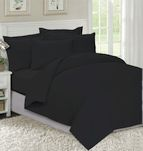 Спално бельо Черно