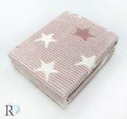 БЕБЕШКО памучно одеяло - звезди пепел