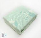 БЕБЕШКО памучно одеяло - Мече аква