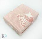 БЕБЕШКО памучно одеяло - Мече розово