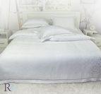 Луксозно спално бельо модал - Анхела Бяло