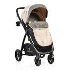 Детска комбинирана количка Stefanie - екрю