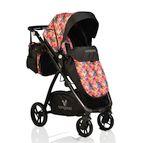 Детска комбинирана количка Stefanie - цветчета