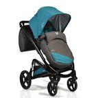 Детска комбинирана количка S-line 3 в 1 - синьо