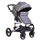 Детска комбинирана количка Gala - сиво