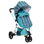 Детска комбинирана количка Sarah - синьо
