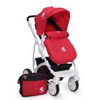 Детска комбинирана количка Tala - червена