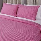 Спално бельо - Розово на Бели Точки