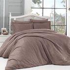 Луксозен спален комплект памучен сатен, жакард - CLOVIS VIZON