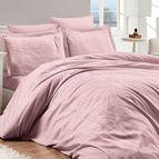 Луксозен спален комплект памучен сатен, жакард - FIONA PUDRA