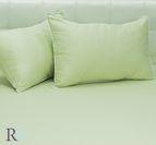 Калъфка едноцветна памучен сатен - Зелено