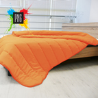 Зимна олекотена завивка Микрофибър - оранжево
