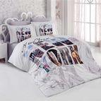 3D Спално бельо памучен сатен - СИТИ СТАЙЛ