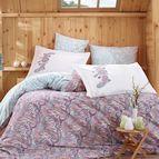 Спално бельо памук поплин - GUILIA LILA