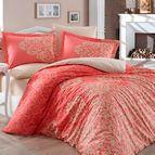 Спално бельо памук поплин - SERENITY KIRMIZI