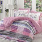 Спално бельо памук поплин - ALANZA LILA