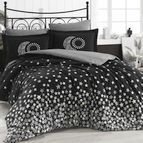 Спално бельо памук поплин - STAR'S SIYAH