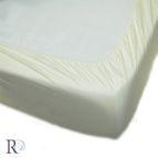 Чаршаф памучен сатен с ластик - Екрю