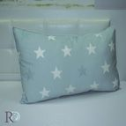 Калъфка памучен сатен Звезди - Аква