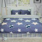 Спално бельо памучен сатен Старс