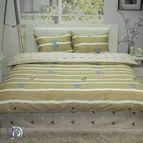 Спално бельо памучен сатен Кактус
