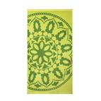 Плажна кърпа - Mедальон зелен