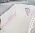 Обиколник за кошара от Трико - Розов Балон