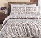 Луксозен спален комплект памучен сатен Deluxe - CATRA SAMPANYA