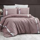 Луксозен спален комплект памучен сатен Deluxe - DREAM STYLE VIZO