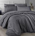 Луксозен спален комплект памучен сатен Deluxe - NEW TREND FUME