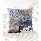 Испанска декоративна възглавница с цип - СЕЗОНИ