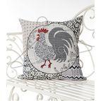Испанска декоративна възглавница с цип - ПЕТЛЬО