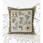 Испанска декоративна възглавница с цип - ОЛИВ