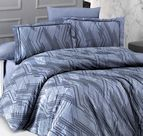 Луксозно спално бельо памучен сатен Deluxe - SANTA