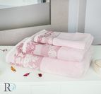 Хавлиени кърпи Алана - Розовo