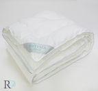 Зимна олекотена завивка памучен сатен - Велина Бяло