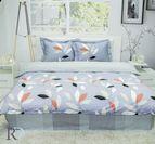 Спално бельо памук - Амелия Сиво