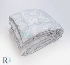 Зимни олекотени завивки Флорал - силвър